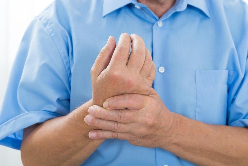 Hapu Tagasi ja Crunch liigesed Inimeste artroosi raviks