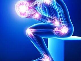 Lenduva valu lihaste liigestes Hoidke polve pusivalt hoidke